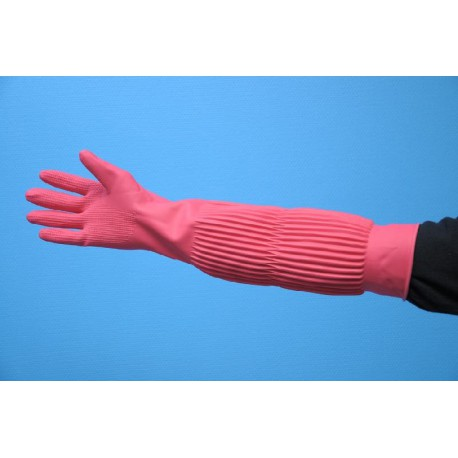 Gants en latex (l.56cm)