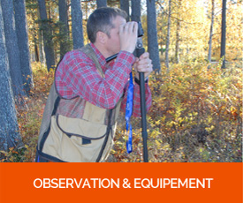 Observation & Equipement